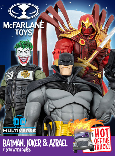 DC Multiverse Batman White Knight Figures