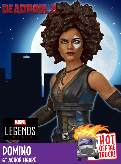 X-Men Marvel Legends Domino