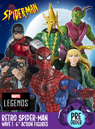 Retro Spider-Man Marvel Legends