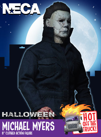 "NECA Halloween 2 - 8"" Clothed Scale Michael Myers"