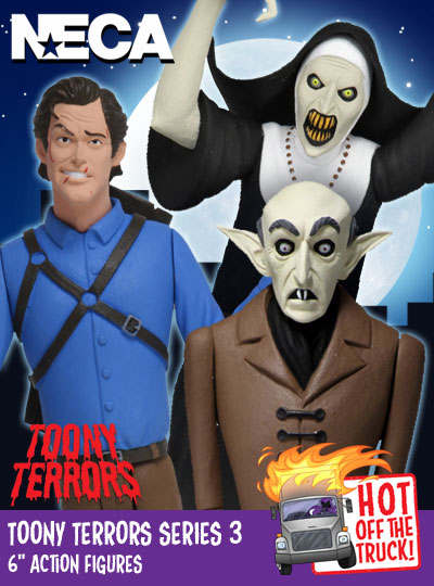 "NECA Toony Terrors 6"" Action Figures Series 3"