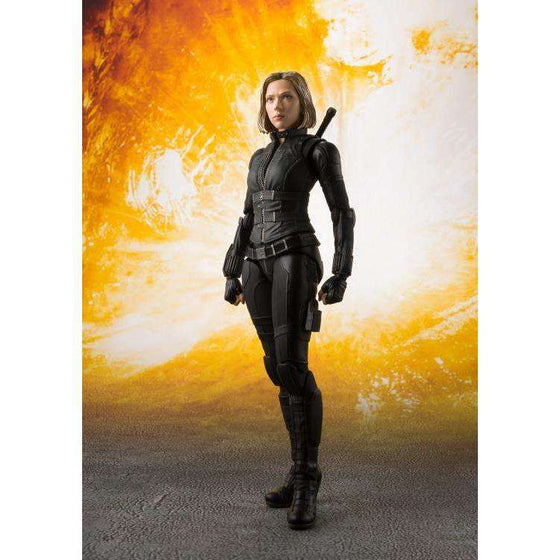 Avengers: Infinity War S.H.Figuarts Black Widow & Tamashii Effect - OCTOBER 2018