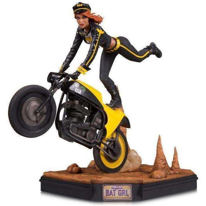 DC Comics Gotham City Garage Batgirl Statue - SEPTEMBER 2018