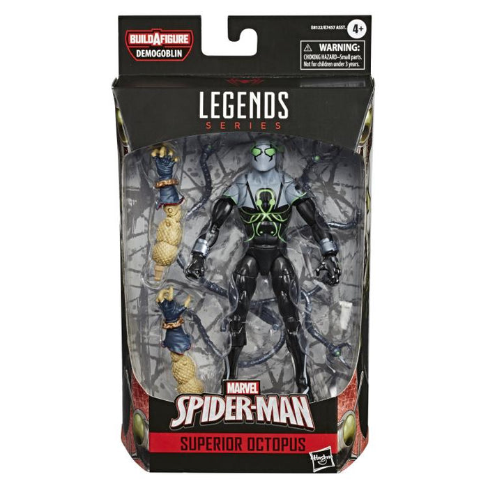 Spider-Man Marvel Legends 6-Inch Action Figures Wave 1 (BAF Demogoblin) - Superior Octopus