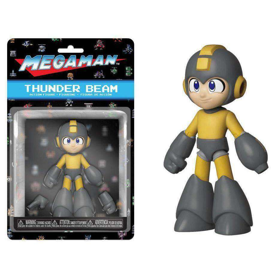 Mega Man (Thunder Beam) Action Figure - DECEMBER 2018