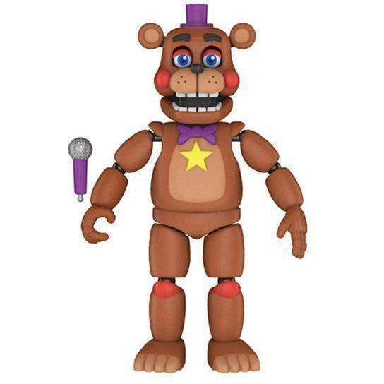 Freddy Fazbear's Pizzeria Simulator Rockstar Freddy Action Figure - NOVEMBER 2018
