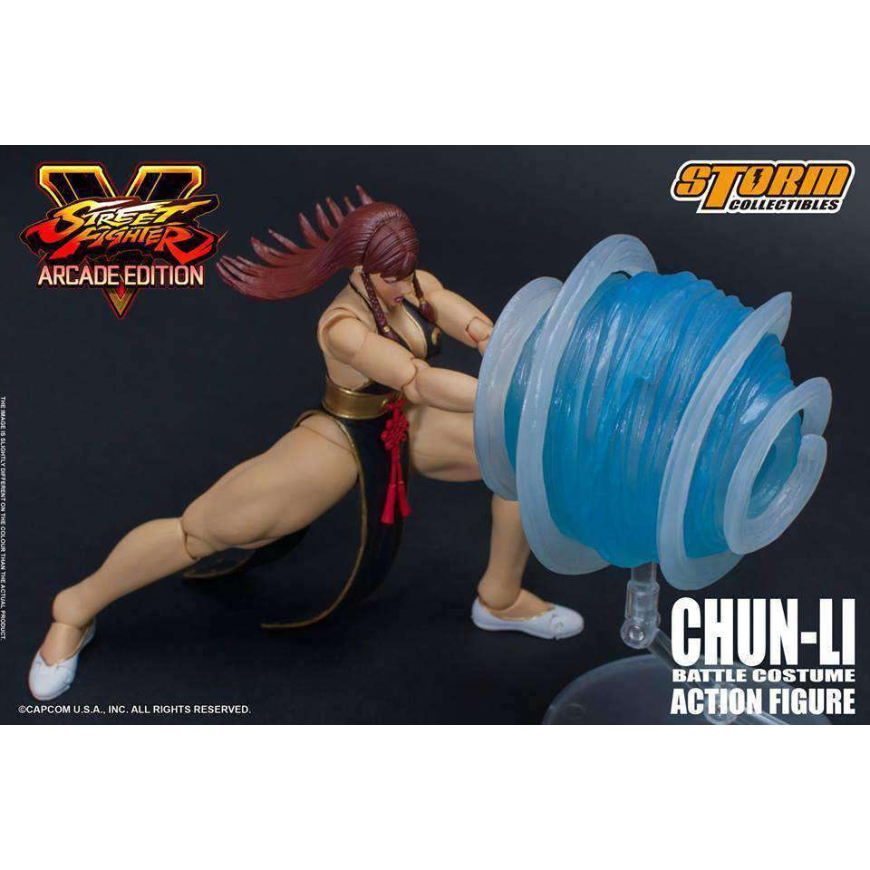 Street Fighter V Hot Chun-Li (Arcade Edition) 1/12 Scale (NYCC 2018 Exclusive)