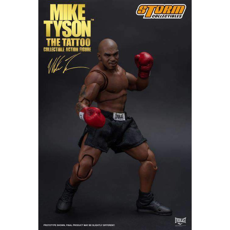 "Mike Tyson ""The Tattoo"" 1/12 Scale Figure"