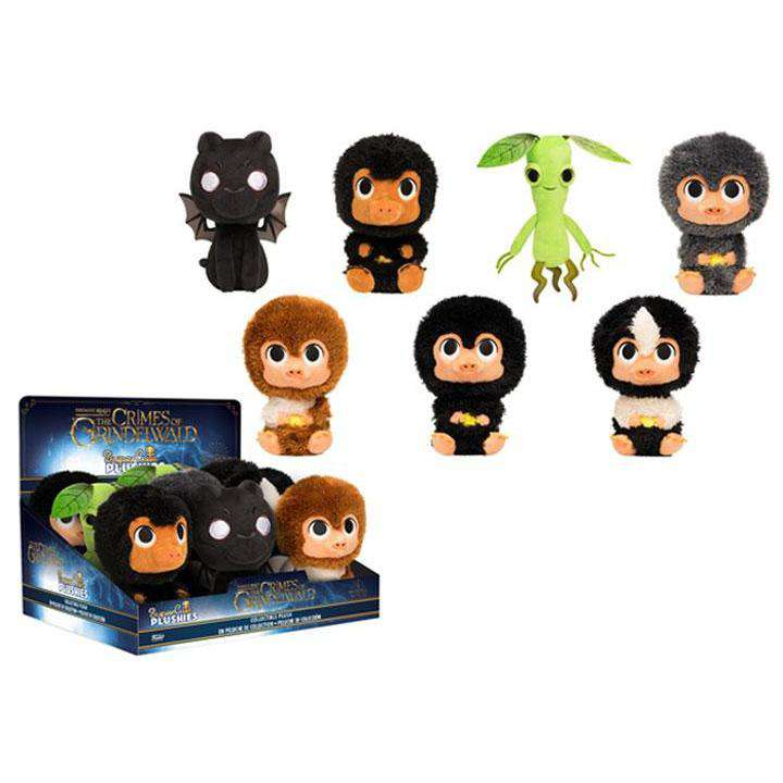 SuperCute Plushies: Fantastic Beasts: The Crimes of Grindelwald Fantastic Beasts Box of 9 - Q2 2019