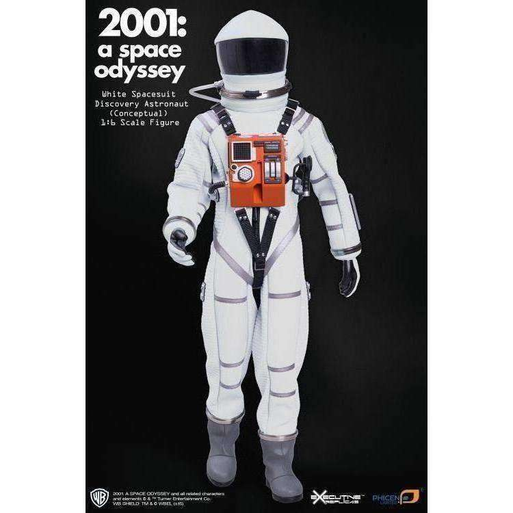 2001: A Space Odyssey 1/6 Scale Discovery Astronaut White Conceptual Space Suit - AUGUST 2018