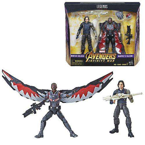 Marvel Studios: The First Ten Years Marvel Legends - Winter Soldier and Falcon - APRIL 2019