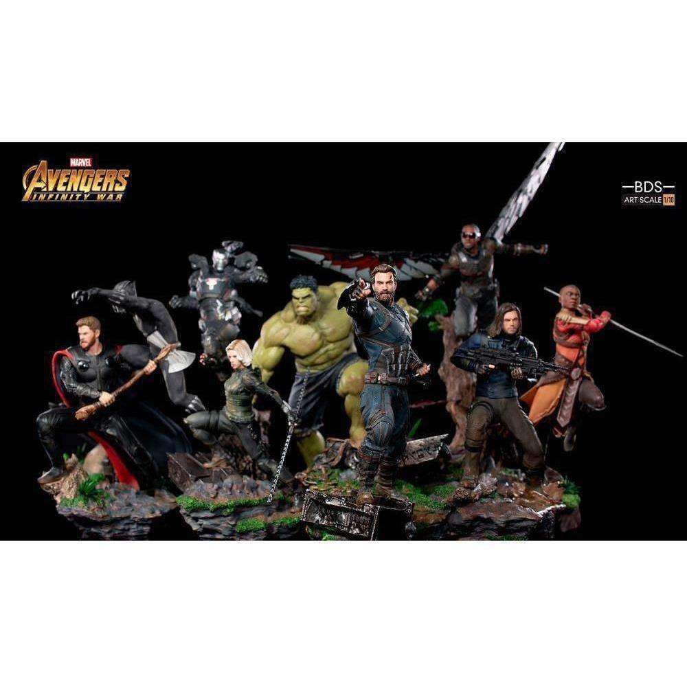 Avengers: Infinity War Battle Diorama Series Falcon 1/10 Art Scale Statue - Q4 2019