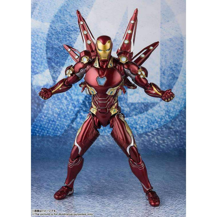 Avengers: Endgame S.H.Figuarts Iron Man Mark L With Nano Weapon Set #2 (Japanese Release) - JULY 2019
