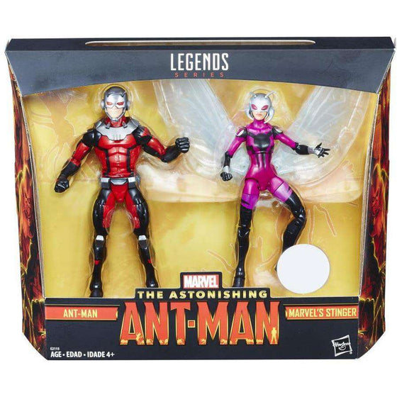 The Astonishing Ant-Man Marvel Legends - Ant-Man & Stinger 2-Pack (Toys R Us Exclusive)