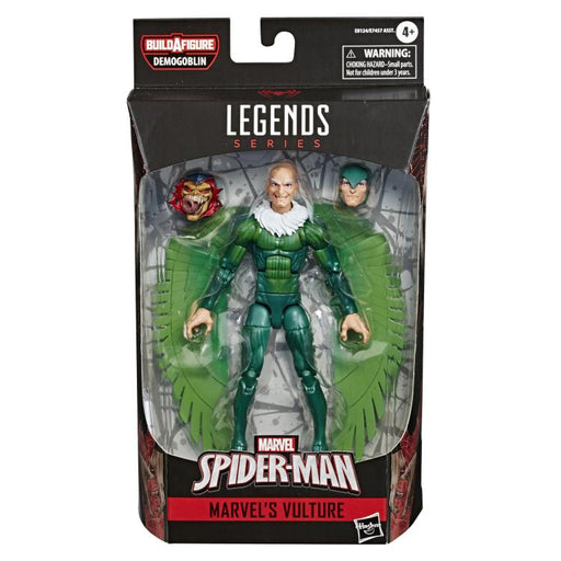 Spider-Man Marvel Legends 6-Inch Action Figures Wave 1 (BAF Demogoblin)- Vulture - JANUARY 2020