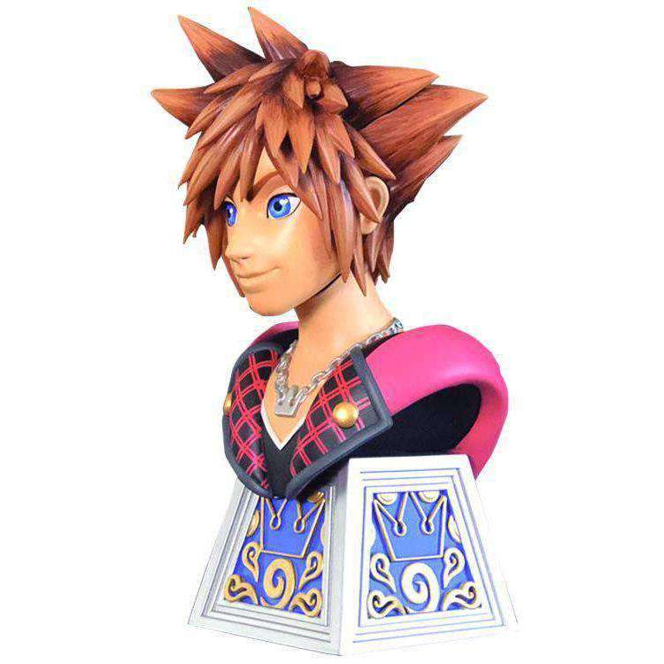 Kingdom Hearts Legends in 3D Sora 1/2 Scale Limited Edition Bust - JUNE 2019