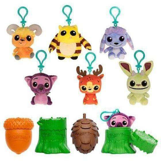 Wetmore Forest: Monsters Mystery Minis Random Plush Keychain - JULY 2019
