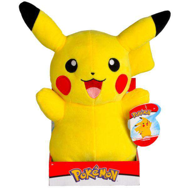 "Pokemon Plush, Large 12"" Inch - Plush Pikachu"