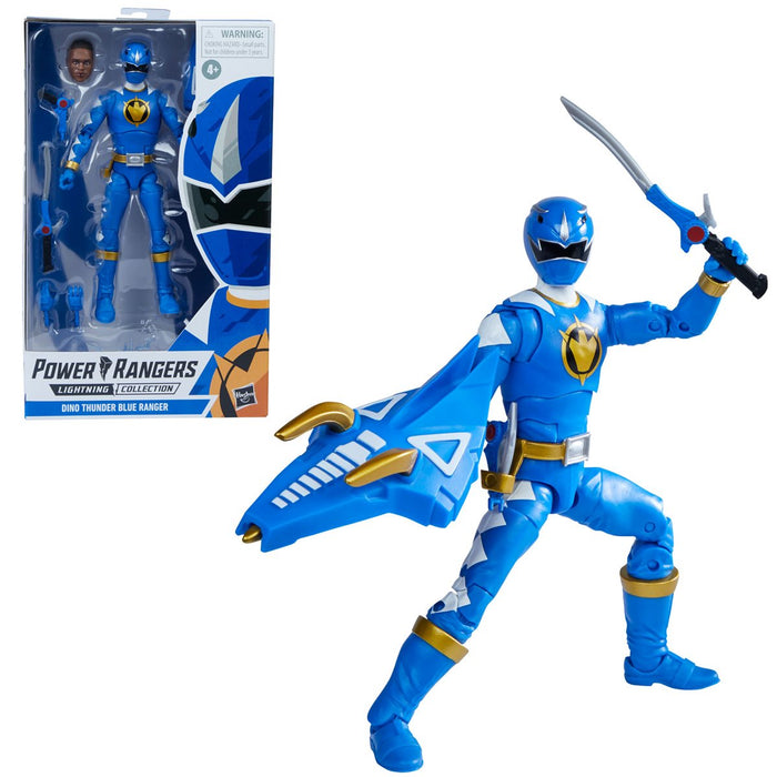 Power Rangers Lightning Collection Dino Thunder Blue Ranger 6-Inch Action Figure - MARCH 2021
