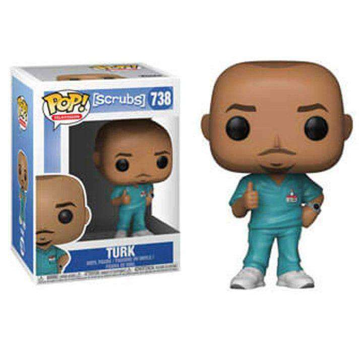 Pop! TV: Scrubs - Turk - JUNE 2019