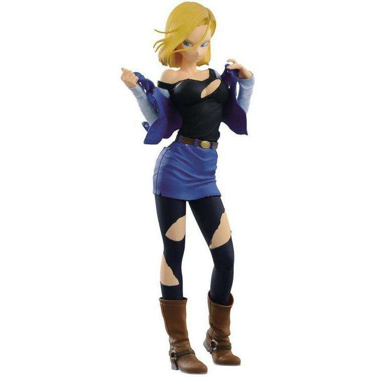 Dragon Ball Z Glitter & Glamours Android 18 Set - JUNE 2019