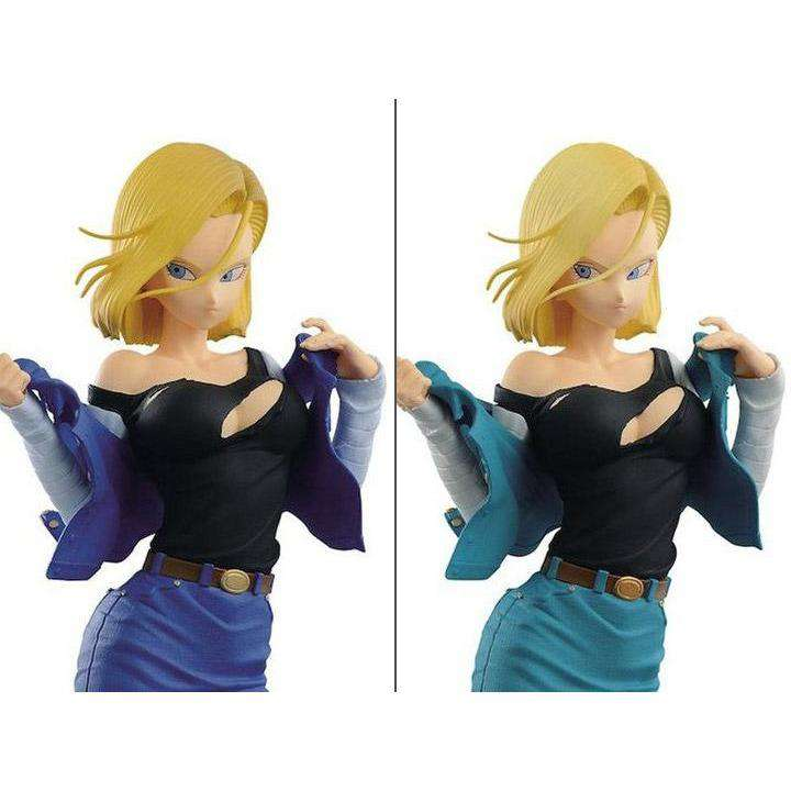 Dragon Ball Z Glitter & Glamours Android 18 Set - APRIL 2019