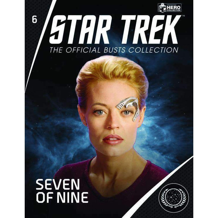 Star Trek Bust Collection #6 Seven of Nine - NOVEMBER 2019