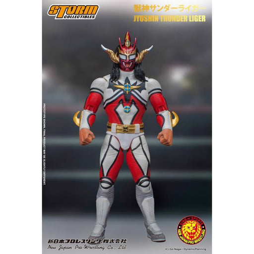 New Japan Pro-Wrestling Jyushin Thunder Liger 1:12 Scale Action Figure - DECEMBER 2020