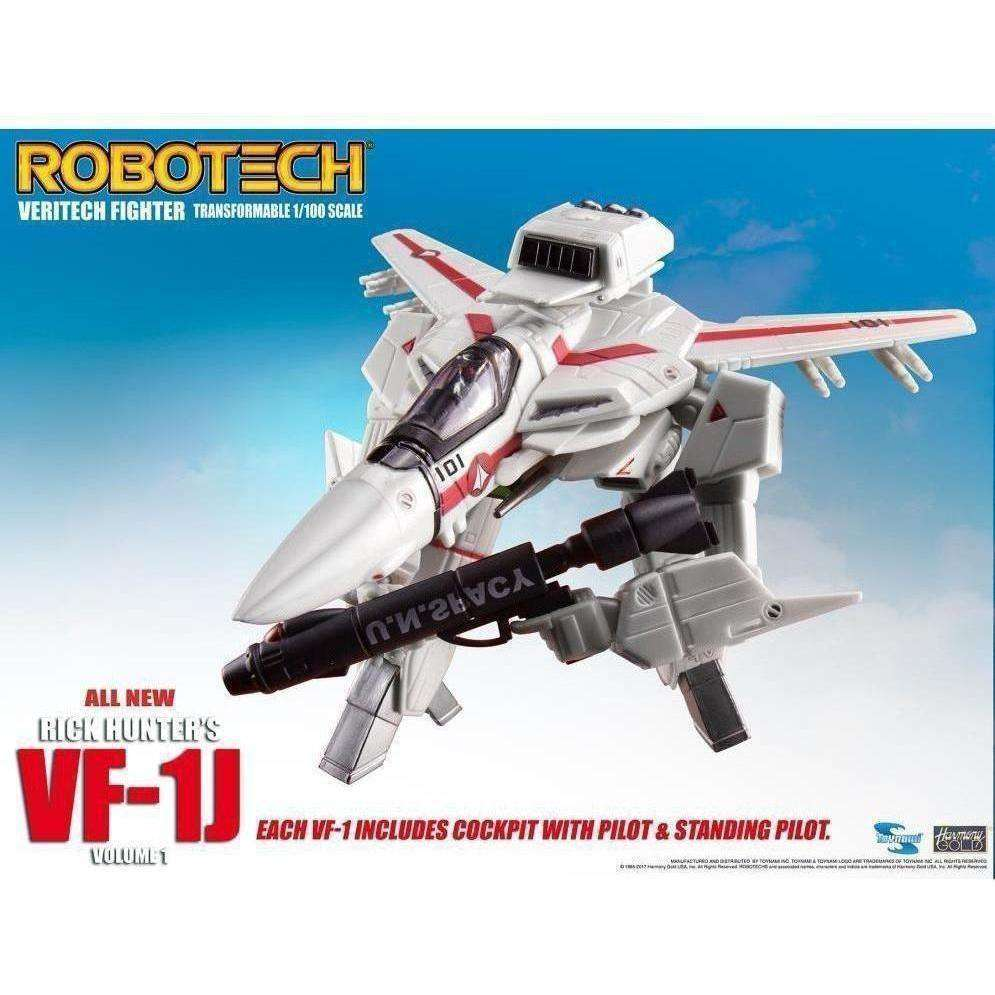 Robotech VF-1J Transformable Veritech Fighter Collection Volume 1 Rick Hunter - Q2 2019