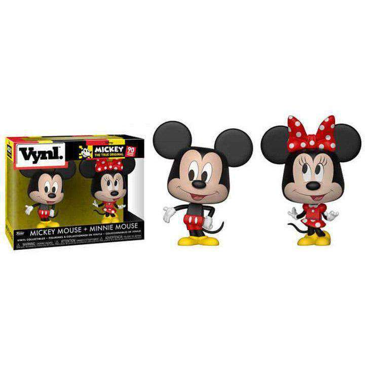 Disney Vynl. Mickey Mouse + Minnie Mouse - MARCH 2019