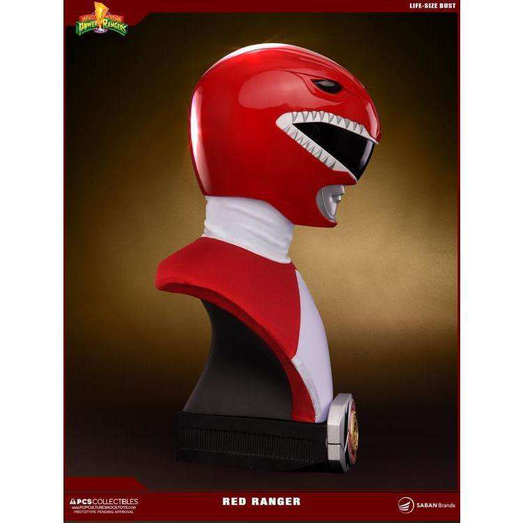 Mighty Morphin Power Rangers Red Ranger Life-Size Bust - Q2 2019