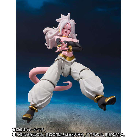 Dragon Ball Fighter Z S.H.Figuarts - Android 21 - JULY 2019