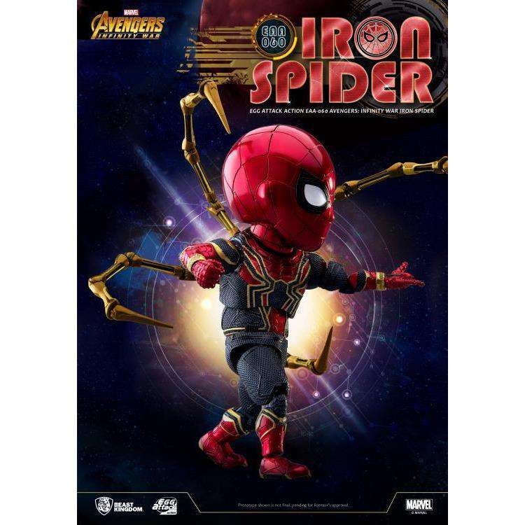 Avengers: Infinity War Egg Attack Action EAA-060 Iron Spider PX Previews Exclusive