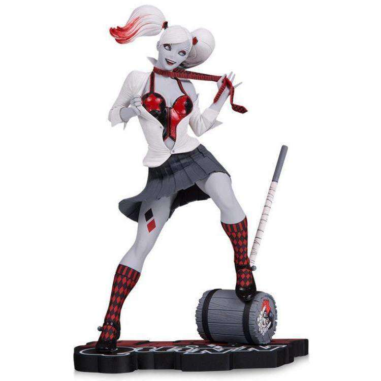 DC Comics Red White & Black Harley Quinn Limited Edition Statue (Guillem March) - APRIL 2019