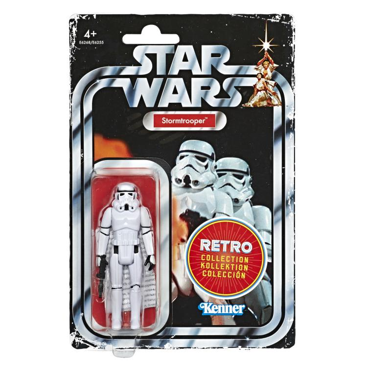 Star Wars The Retro Collection Action Figures Wave 1 - Stormtrooper