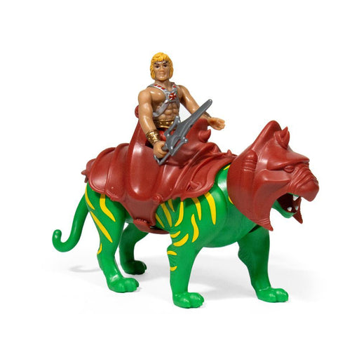 Masters of the Universe ReAction Figure - He-Man & Battle Cat Two Pack