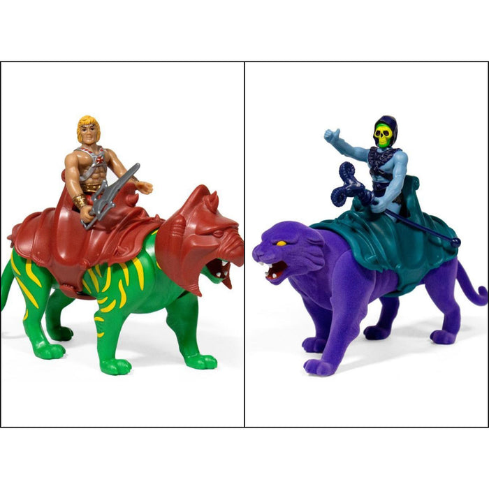 Masters of the Universe ReAction Figure - He-Man & Skeletor 2-Packs Set of 2