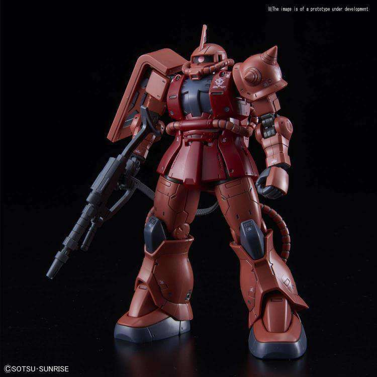 Gundam HG The Origin 1/144 Zaku II (Char Red Comet Ver.) Model Kit - MAY 2019