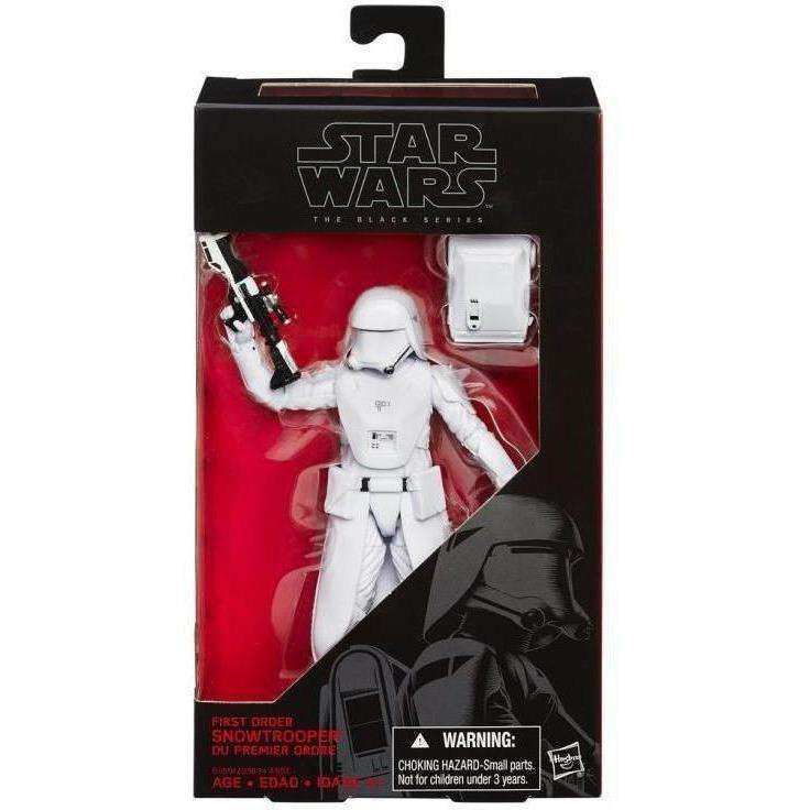 "Star Wars: The Black Series 6"" - First Order Snowtrooper"