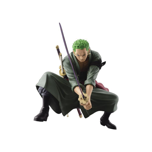 One Piece Roronoa Zoro SCultures Colosseum 4 Vol.3 Big Banpresto Statue - OCTOBER 2020