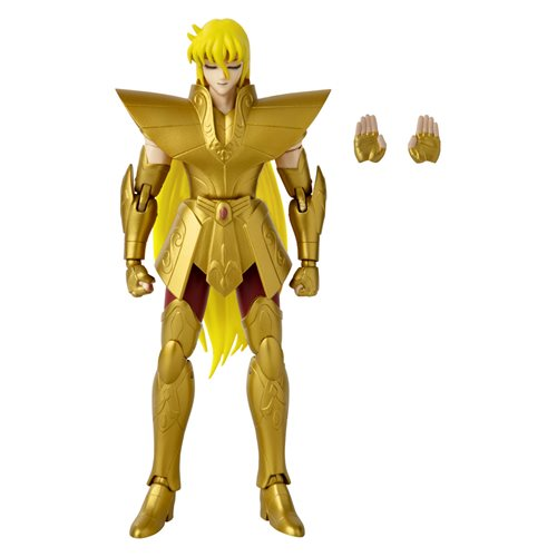 Knights of the Zodiac Anime Heroes Virgo Shaka 6 1/2-Inch Action Figure - OCTOBER 2020