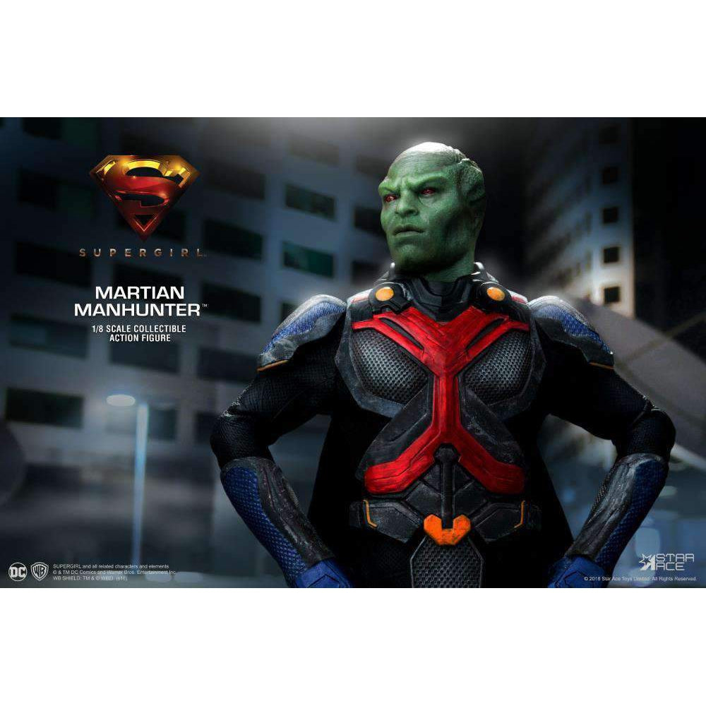 Supergirl (TV Series) Real Master Series Martian Manhunter 1/8 Scale Figure - AUGUST 2019