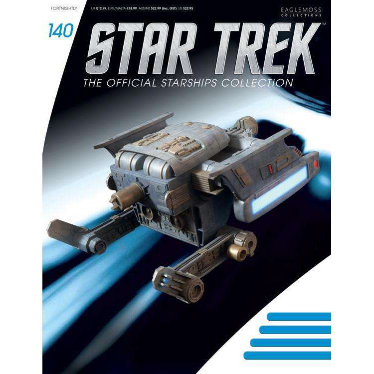 Star Trek Starships Collection #140 Starfleet Tug - FEBRUARY 2019