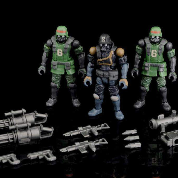 Acid Rain B2Five K6 Jungle Soldier Set