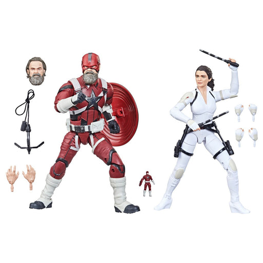 Black Widow Marvel Legends 6-Inch Red Guardian and Melina Vostkoff Action Figures - AUGUST 2021