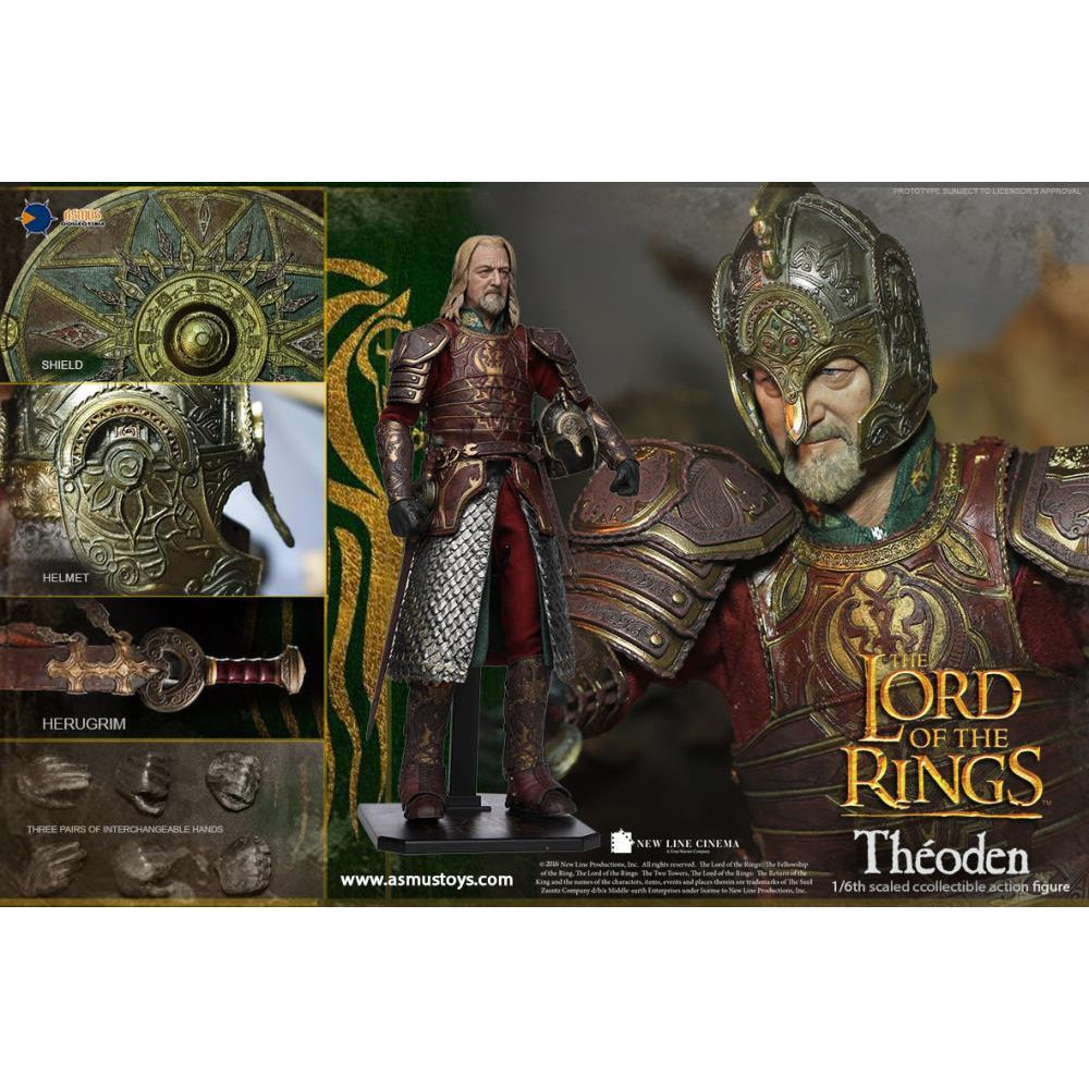 The Lord of the Rings Theoden 1/6 Scale Figure - SEPTEMBER 2019