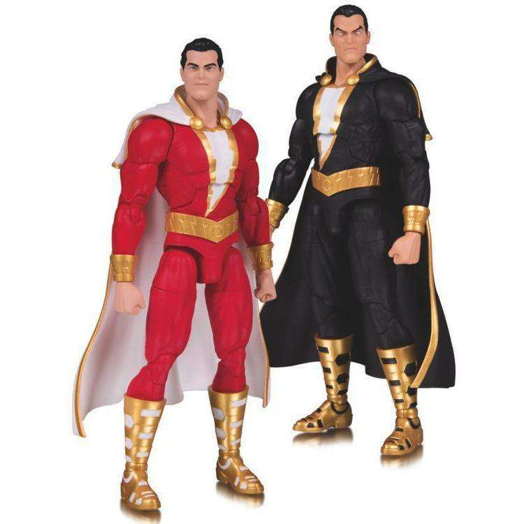 DC Essentials Shazam & Black Adam Two-Pack - JANUARY 2019