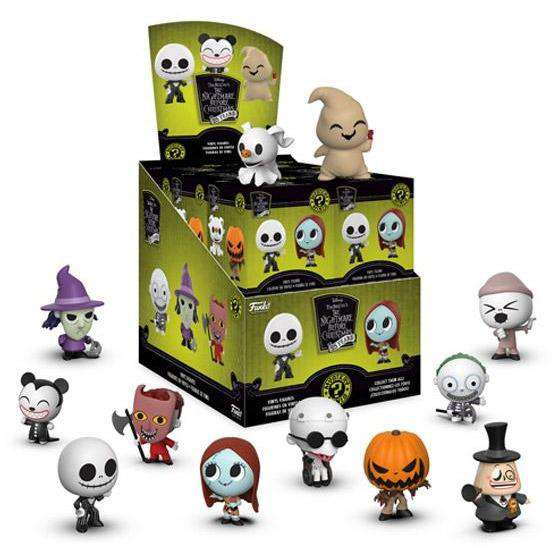 The Nightmare Before Christmas 25 Year Anniversary Mystery Minis Box of 12 Figures - SEPTEMBER 2018