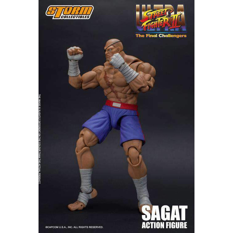Street Fighter II Sagat 1/12 Scale Figure - AUGUST 2019
