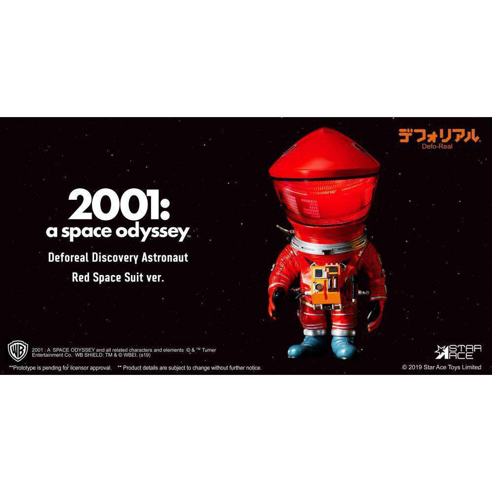 2001: A Space Odyssey Deform Real Discovery Astronaut (Red) - Q3 2019